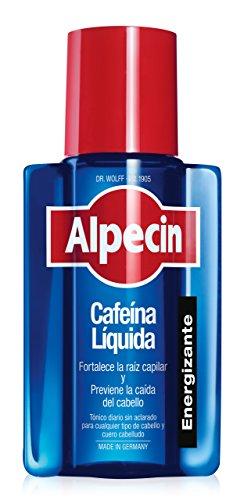 Alpecin Cafeina Liquida 1x 200 ml | Locion anticaida cabello hombre | Tratamiento para caida de pelo hombre | Tratamientos contra alopecia areata androgenetica | Producto para evitar caida pelo