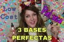 3 BASES PERFECTAS PARA PIEL SECA-LOW COST