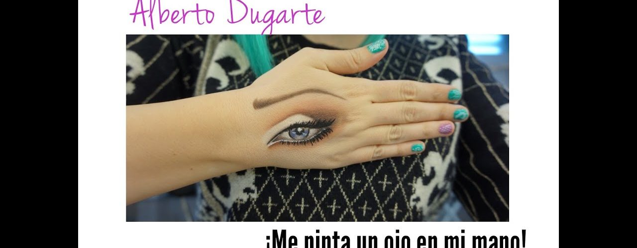 Alberto Dugarte-¡Me pinta un ojo en mi mano!
