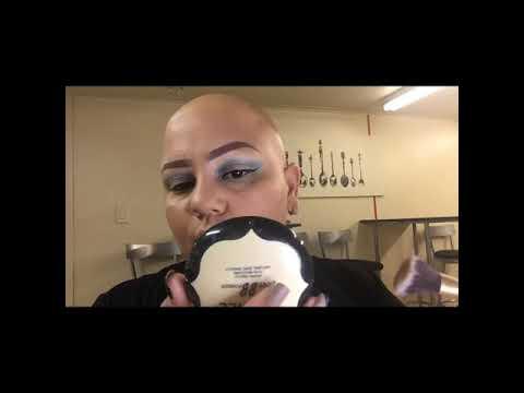 Aprendiendo a maquillarme,No tengo cejas ni pestañas padezco de Alopecia pero me Amo como Soy !