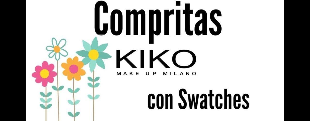 Compritas Kiko con Swatches