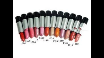Ebay 12 lipstick Review (con swatches en labios)