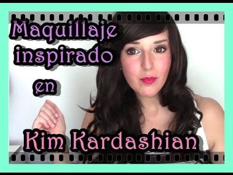 Maquillaje Inspirado en Kim Kardashian