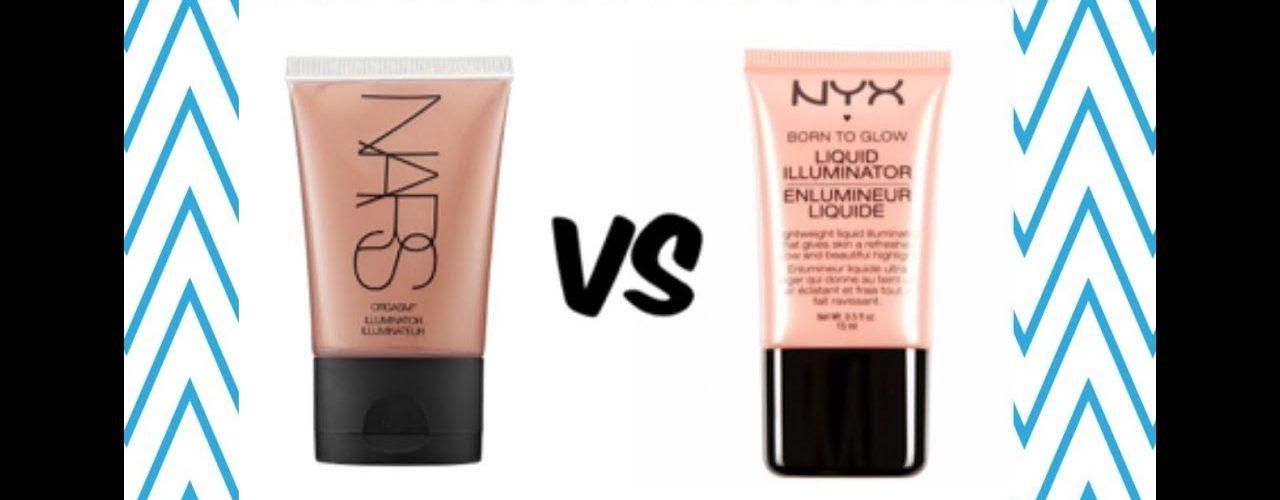 Nars vs Nyx – Iluminador liquido