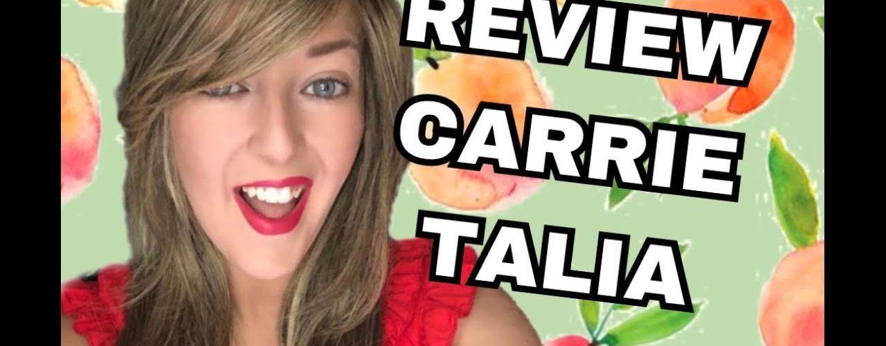 PELUCAS-REVIEW CARRIE- TALIA